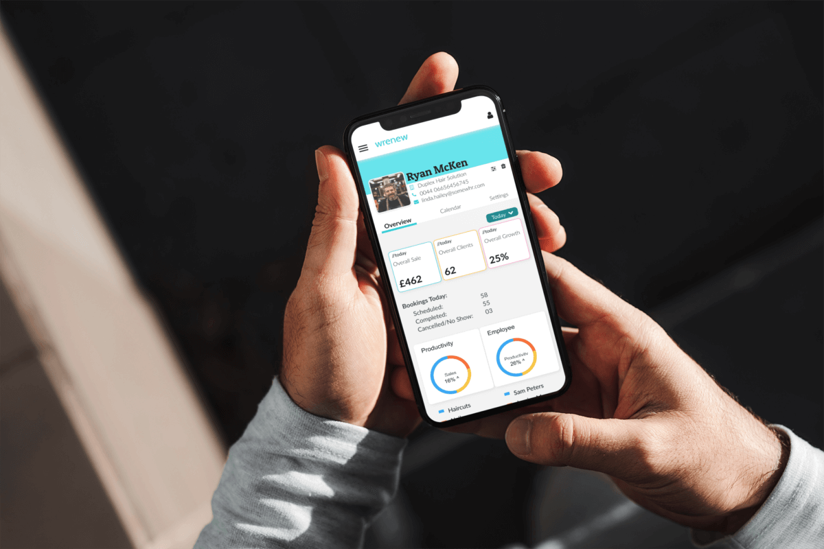 Enter WRENEW… more than just a booking platform